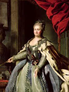 Portrait Of Catherine Ii C.1770