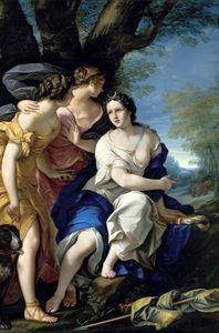 Diana y las ninfas