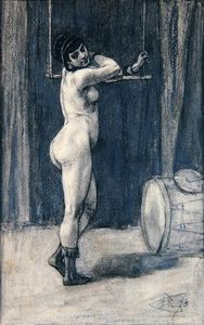 Woman With A Trapeze