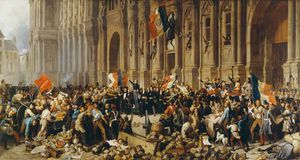Lamartine Rejects The Red Flag
