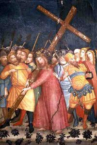 Christ Carrying His Cross On The Way To Calvary
