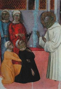 Exorcism Of A Man Possessed By A Demon, From The Altarpiece Of St. Bernard Of Clairvaux