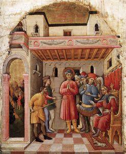 Martyrdom Of St Mamete