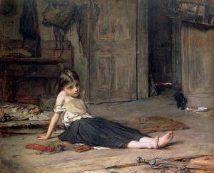 Girl By The Fireside