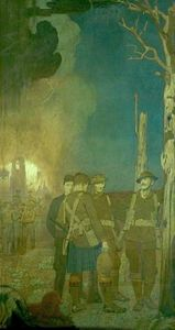 World War Memorial To The Students Of Heanor Grammar School