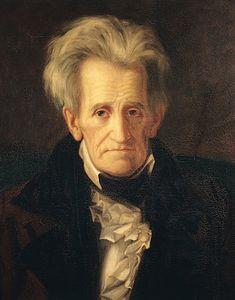 Portrait Of Andrew Jackson