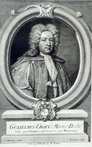 William Croft, Engraved By George Vertue