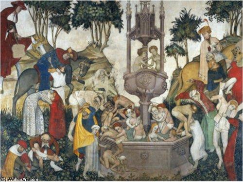 El Fuente De Juventud Giacomo Jaquerio Wikioo Org La Enciclopedia De Las Bellas Artes