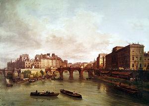 The Pont Neuf, Ile De La Cite, Paris Mint