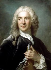 Portrait Of Charles-joseph Natoire