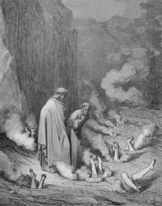 The Punishment Of The Simonists