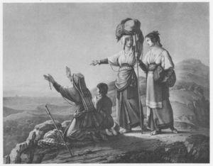 Albanerinnen Nach Rom Pilgernd
