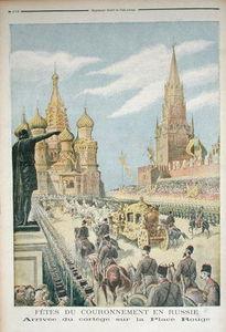 Celebration For The Coronation Of Tsar Nicolas Ii