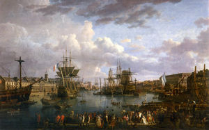 View Of The Port Of Brest -