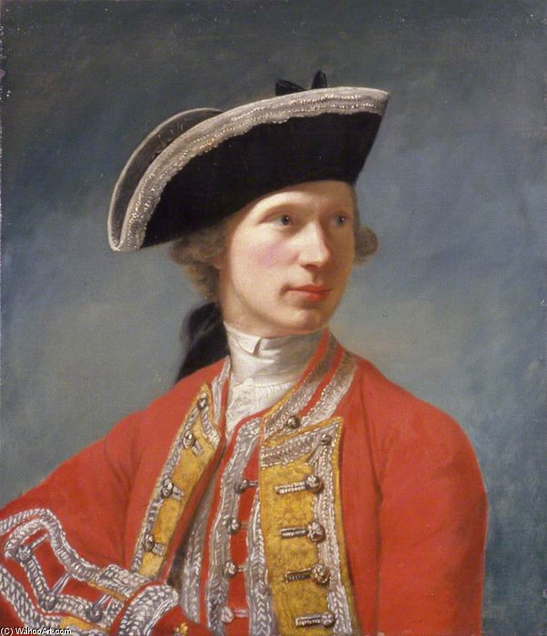 Wikioo.org - The Encyclopedia of Fine Arts - Painting, Artwork by Robert Edge Pine - Captain William Baillie