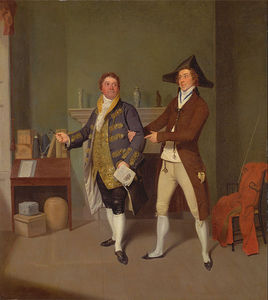 John Quick And John Fawcett In Thomas Moreton's 'the Way To Get Married'