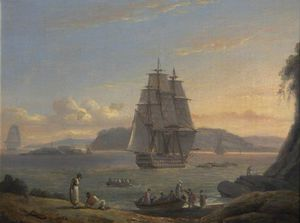 Mount Edgcumbe From The Hoe, Plymouth