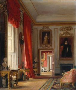 The Carved Room, Petworth House, Sussex