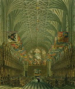 Windsor Castle, Quire Of St George's