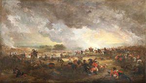 The Battle Of Waterloo -