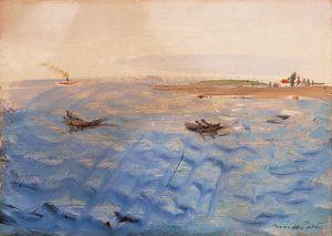 Boats At The Balaton