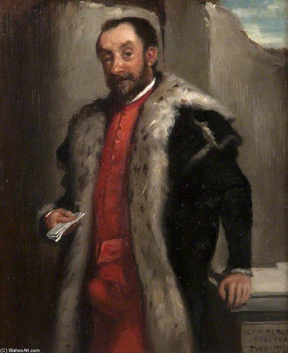 WikiOO.org – 美術百科全書 - 繪畫,作品 Patrick William Adam - 肖像 贵族 控股 一个 信