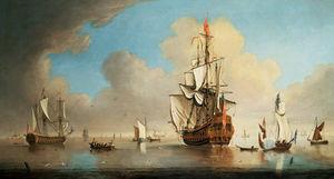 British Men-o'-war And Other Ships