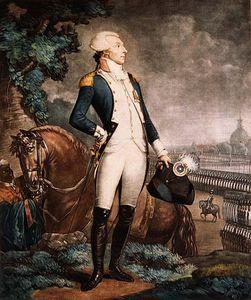 Portrait Of The Marquis De La Fayette Commander Of The National Guard