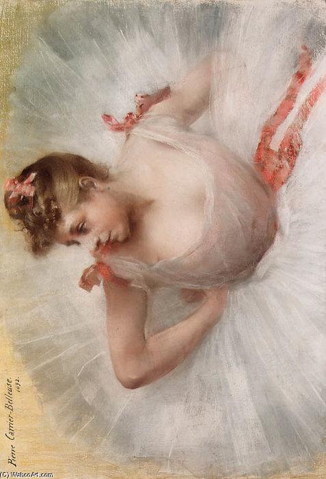 Wikioo.org - The Encyclopedia of Fine Arts - Painting, Artwork by Albert Ernest Carrier Belleuse - La Danseuse -