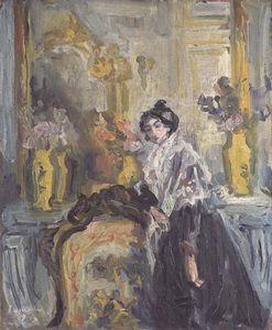 Femme Accoudée
