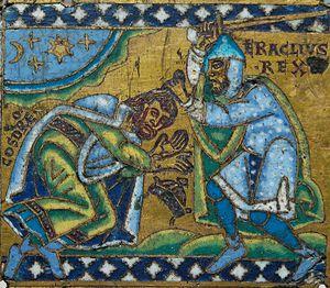 Cherub And Byzantine Emperor
