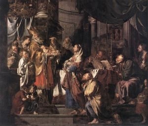 el presentación en el templo