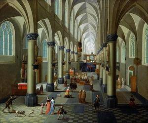 Interior Of A Church -
