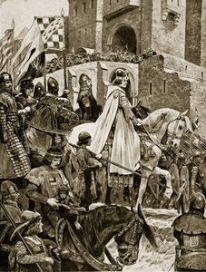 Becket's Procession Through France