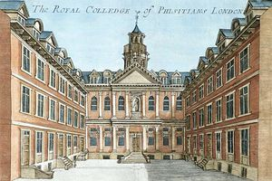 The Royal College Of Physicians, From ''a Book Of The Prospects Of The Remarkable Places In And Abou