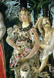 Detail Of Flora As The Hour Of Spring