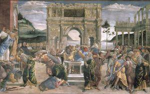 The Punishment Of Korah, Dathan And Abiram