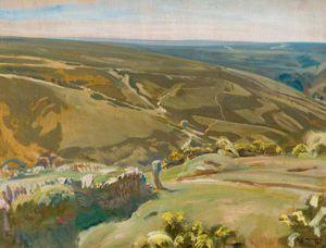 An Extensive View Of Exmoor -