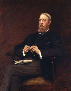 Portrait Of Spencer Compton Cavendish