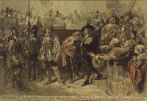 Charles I Leaving Westminster Hall