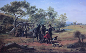 Aborigines Met On The Way To The Diggings