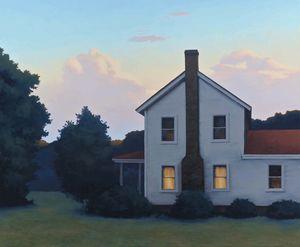 Twilight Farmhouse