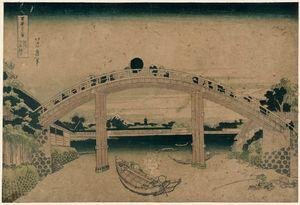 Under Mannen Bridge At Fukagawa
