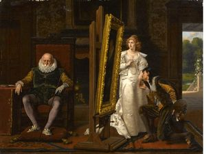 The Painter's Indiscretion