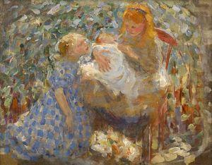 Three Children, Laren