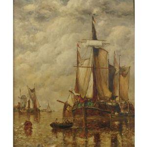 Wikioo.org - The Encyclopedia of Fine Arts - Artist, Painter  Paul Jean Clays