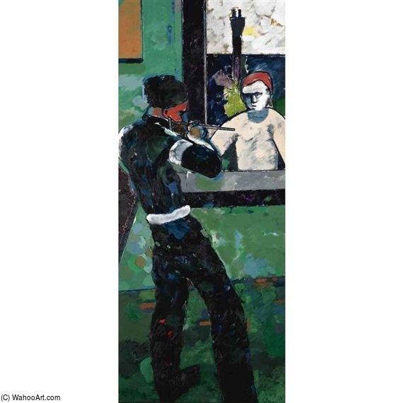 Wikioo.org – L'Enciclopedia delle Belle Arti - Pittura, Opere di Ronald Brooks Kitaj - Avvio di una guerra