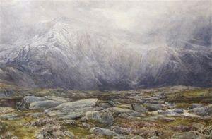 Llyn Idwal, A Snow Storm
