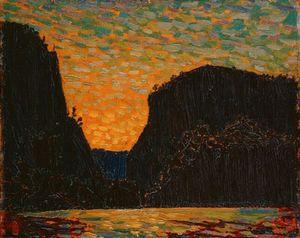 Petawawa Gorges, Night