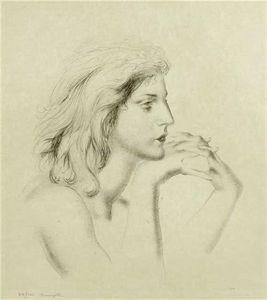 Femme En Profil